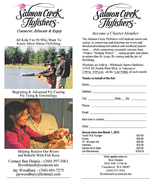 Salmon Creek Flyfishers