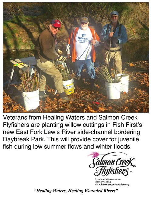 Veterans and Salmon Creek Flyfishers